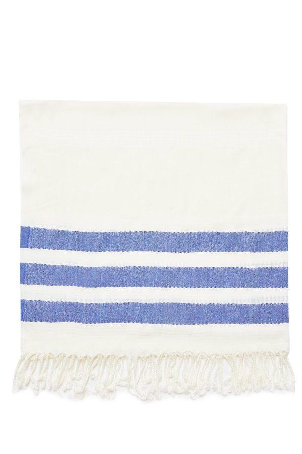 Dubai Turkish Towel - Blue, Handmade, Bath Towel, Peshtemal, Sauna Towel, Beach Towel