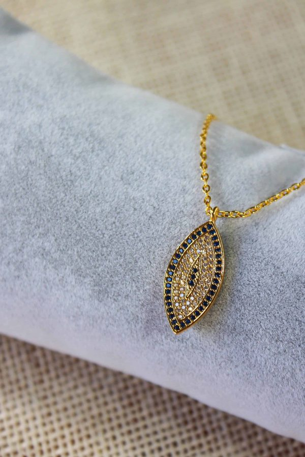 Almond Shaped Necklace