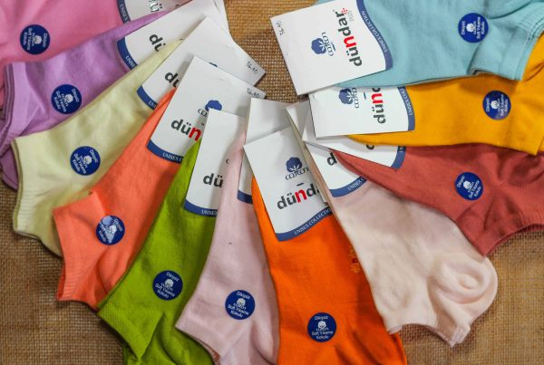 Colorful 12 Pack Ankle Socks Women - Seamless - 100% Cotton - Premium Quality