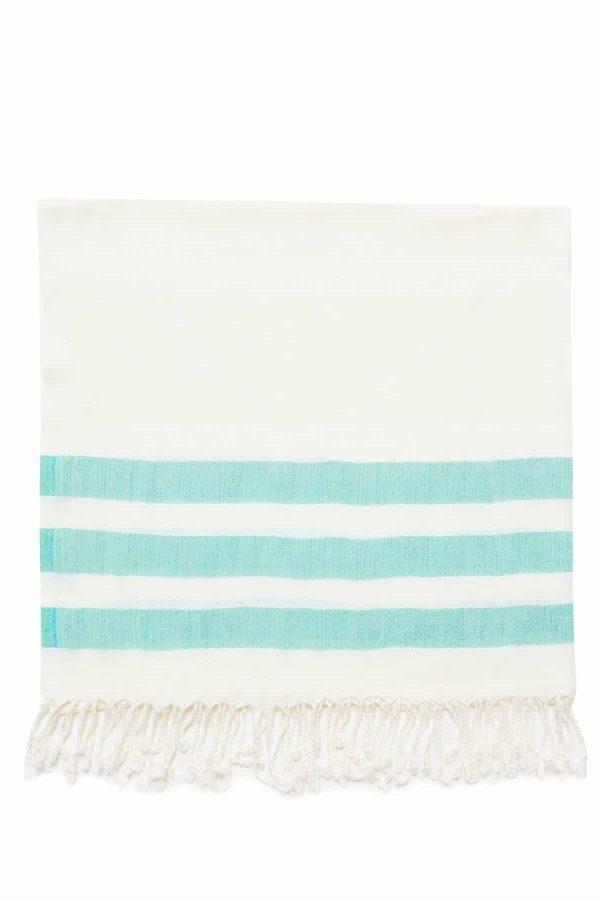 Dubai Turkish Towel - Tiffany, Handmade, Bath Towel, Peshtemal, Sauna Towel, Beach Towel