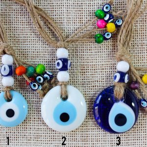 Evil Eye Glass Wall & Car Ornaments
