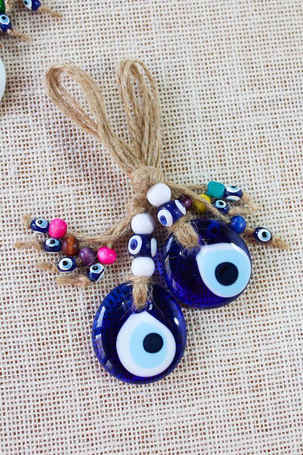 Evil Eye Glass Wall & Car Ornaments