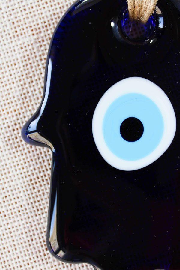Glass Evil Eye Macrome