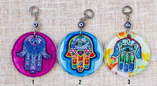 Hamsa Hand Wall Ornaments