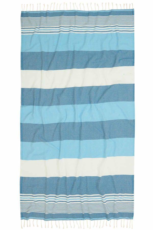 Hawaii Turkish Towel - Ocean, 100% Organic Cotton, Handmade, Bath Towel, Peshtemal, Sauna Towel, Beach Towel