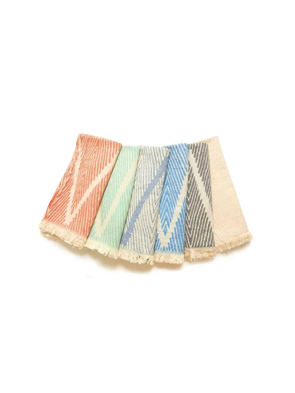 Helsinki Turkish Towel - Moonless Night, 100% Organic Cotton, Handmade, Bath Towel, Peshtemal, Sauna Towel, Beach Towel
