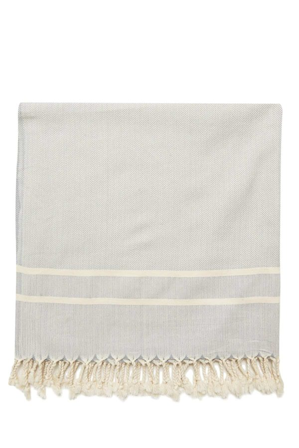 Ibiza Turkish Towel - Belgian Block, 100% Organic Cotton, Handmade, Bath Towel, Peshtemal, Sauna Towel, Beach Towel
