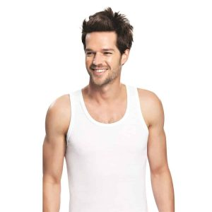 Men's Tank Undershirts - 100% Cotton
