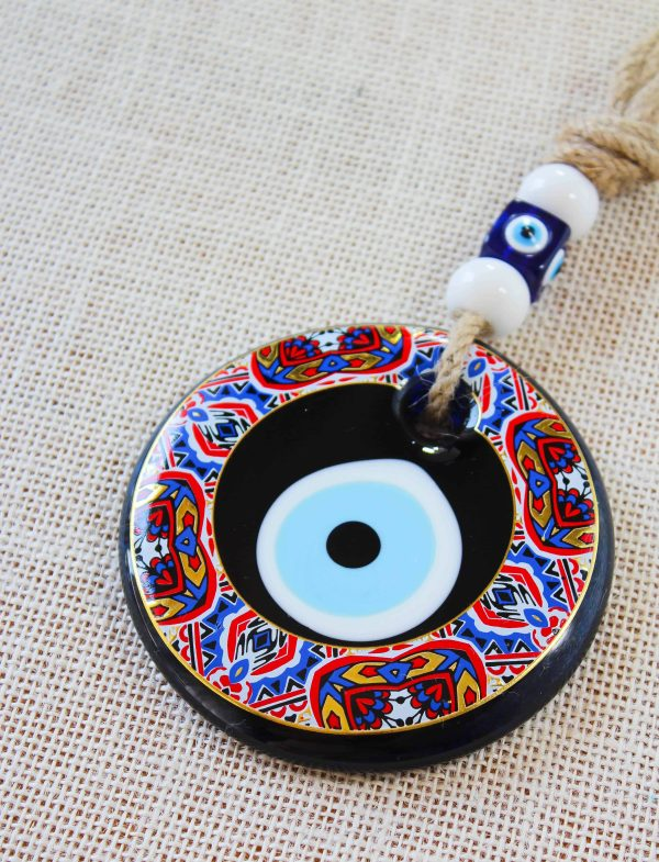 Painted Evil Eye Wall Hanging