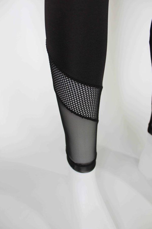 Premium Quality Body Hughing Tulle and Mesh Detailed Leggings