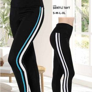 Premium Quality High Waist Side Stripe Legging