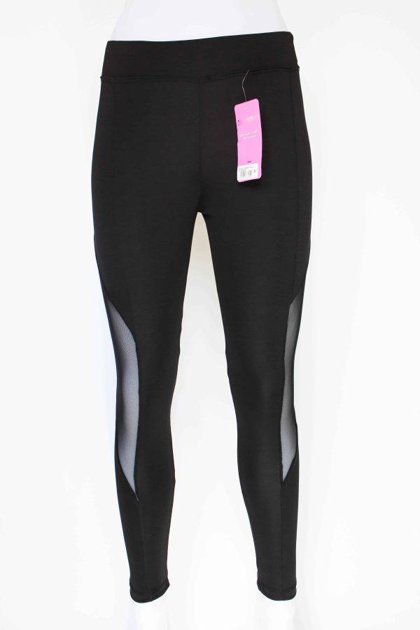 Premium Quality Side Tulle Detailed Legging