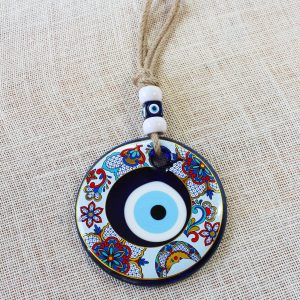 Special Flower Design Evil Eye