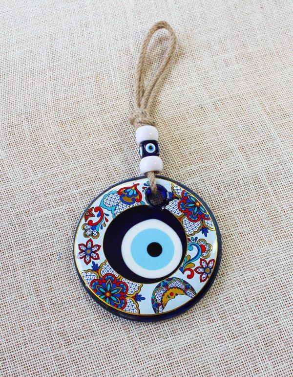 Special Flower Design Evil Eye